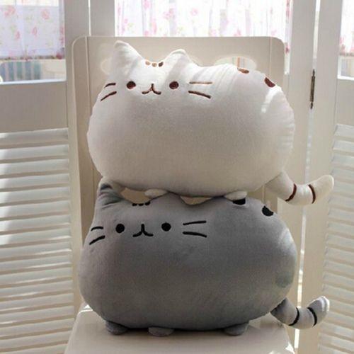 PUSHEEN THE CAT Stofftier Plüschtier Facebook Katze NEU OVP | Nähen ...