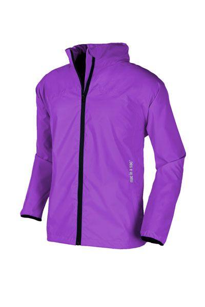*Mac in a Sac*Waterproof*Breathable*Pack away Rain Jacket /& Hood* *Orchid Purple
