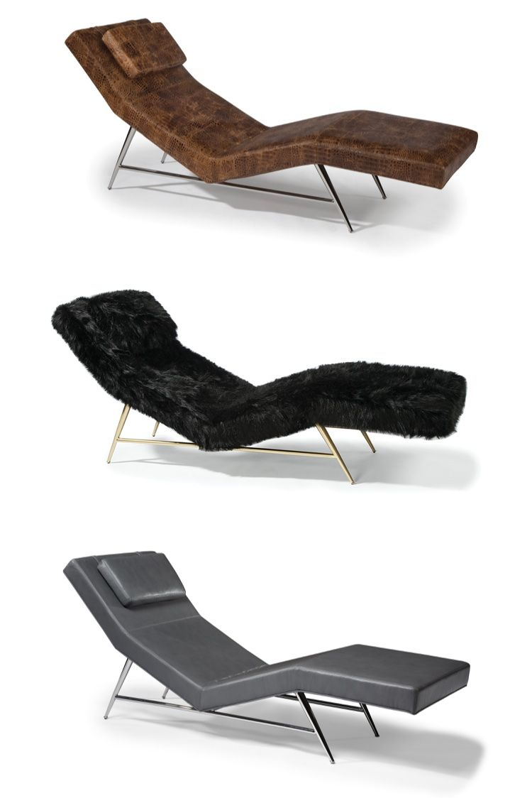 Custom Upholstered Made To Order Chaise Lounge Designed By Milo