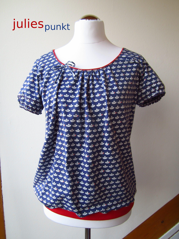 Schnittmuster: Farbenmix Shelly | Kleidung nähen, Shirt
