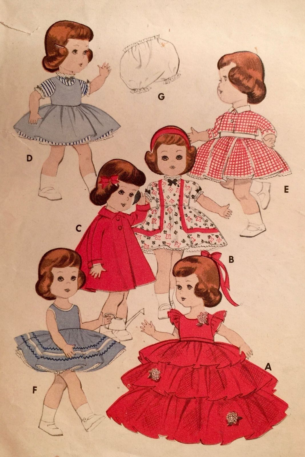 Used 1950s \'butterick\' 11\