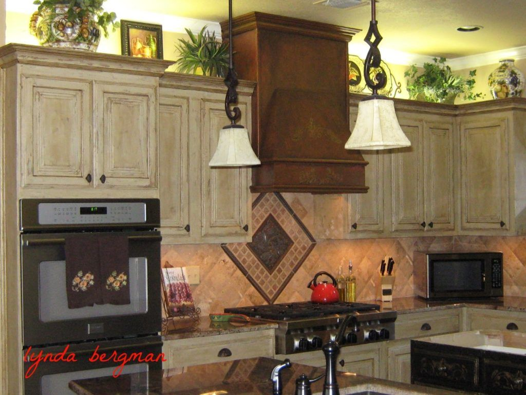 Kitchen Cabinets Pickled Oak Finish Distressed Kitchen Cabinets Antique White Kitchen Kitchen Furniture Design