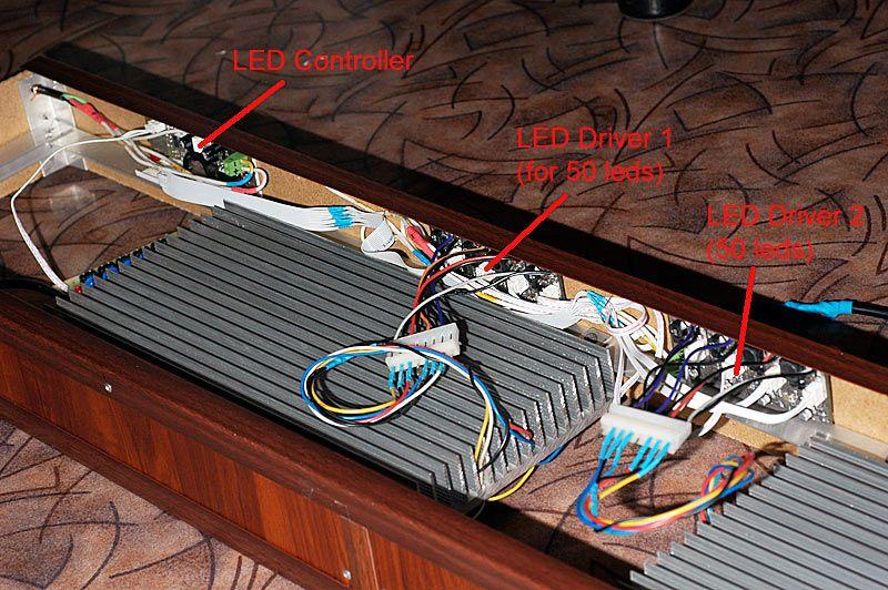 DIY LED lighting + DIY LED driver + DIY LED Controller