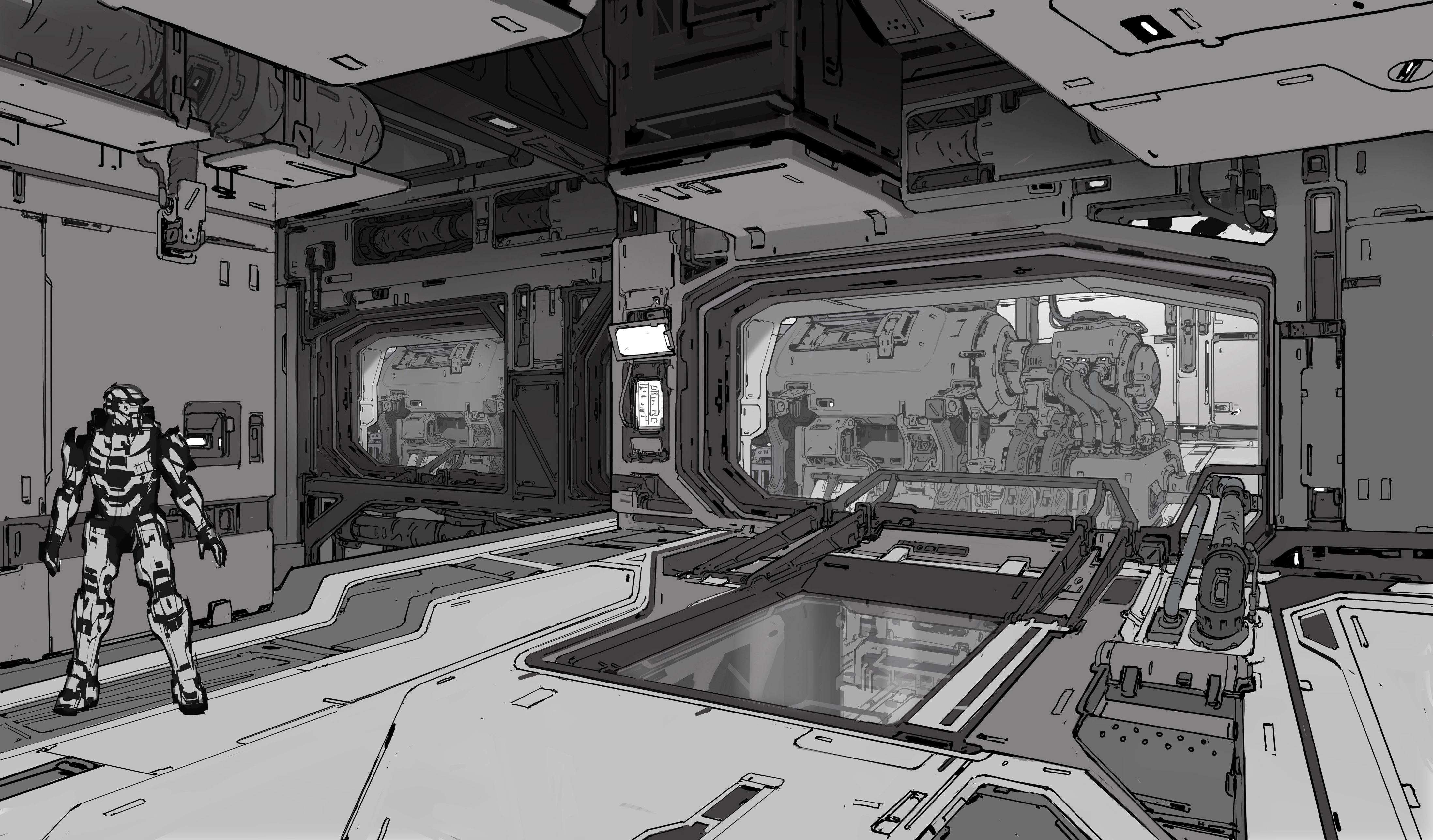 Here 39 S A Ton Of Concept Art From Halo 5 Tecnologia