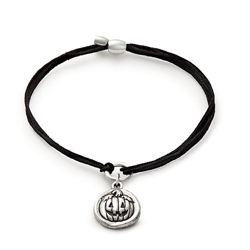8280c6003d94e Jack O' Lantern Pull Cord Bracelet in 2019   Jewels   Cord bracelets ...