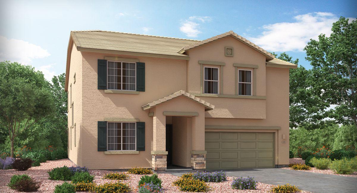 The Ironwood Elevation B Lennar, New homes, Tucson
