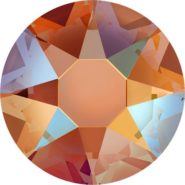 0c612b772 Swarovski® Round Flat Back - Tangerine Shimmer | Products ...
