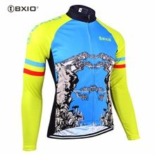 US  18.38 BXIO Winter Cycling Clothing MTB Men Bike Clothes Pro Team  Cycling Jersey Long Sleeve 621cdd234