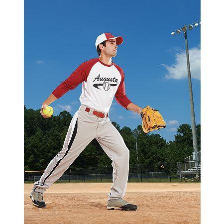The Augusta Youth Nova Jersey Is 100 Polyester Wicking Knit Wicks Moisture Away From The Body Self Fabric Collar Baseball Pants Baseball Augusta Sportswear
