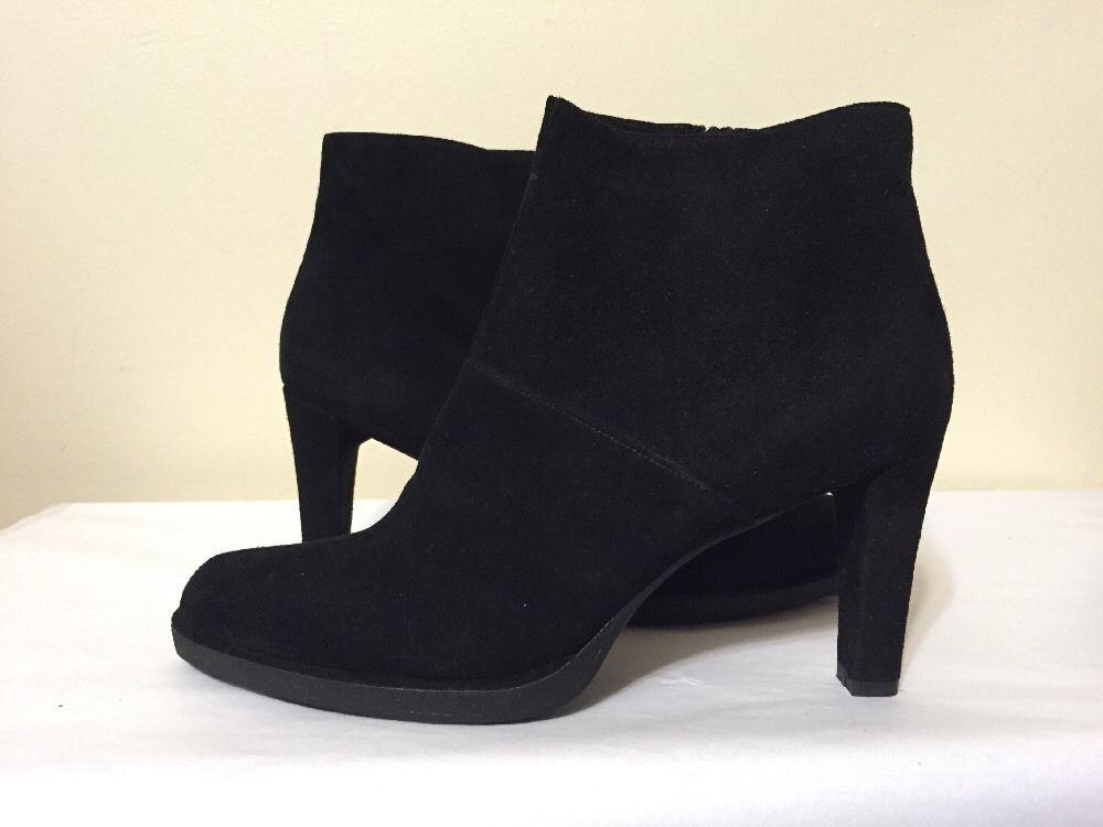 Stuart Weitzman Woman Suede Ankle Boots Black Size 10 Stuart Weitzman Outlet Comfortable Classic 7WyAHRK