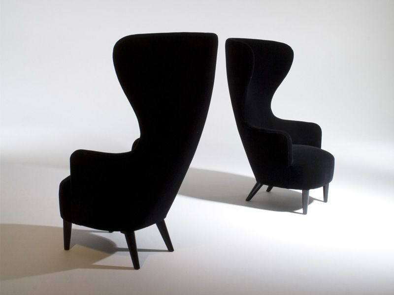 Modern Wing Chairs wingback chairs | tom dixon, wingback chairs and armchairs
