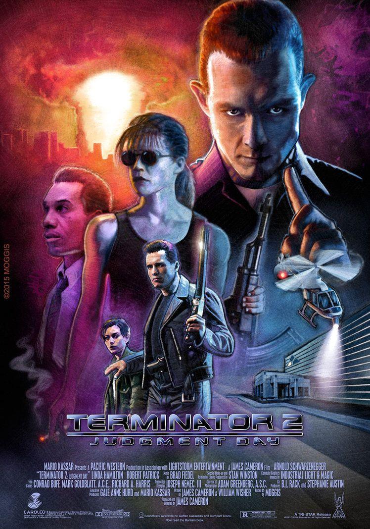 T2 Painting   Terminator movies, Movie posters, Terminator