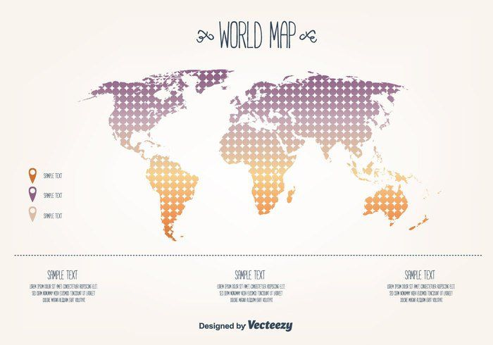 Free world map vector free dotted world map you can use as free world map vector free dotted world map you can use as infographic or any gumiabroncs Image collections