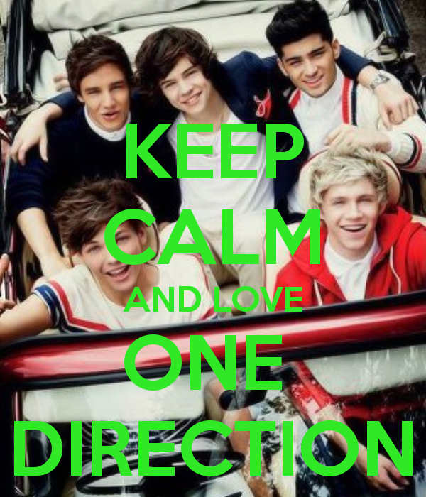 Keep Calm And Love One Direction Keep Calm 1d Pinterest