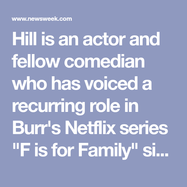 Who Is Bill Burr S Wife Nia Renee Hill In 2020 Netflix Series Comedians Renee