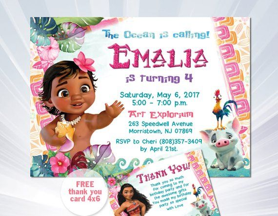 picture regarding Printable Moana Invitations named MOANA BIRTHDAY INVITATION, Kid Moana Invitation, Youngster Moana