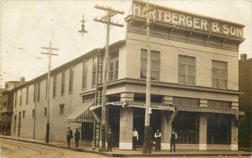 VA Virginia Roanoke Hartberger Sons Furniture Store Ca
