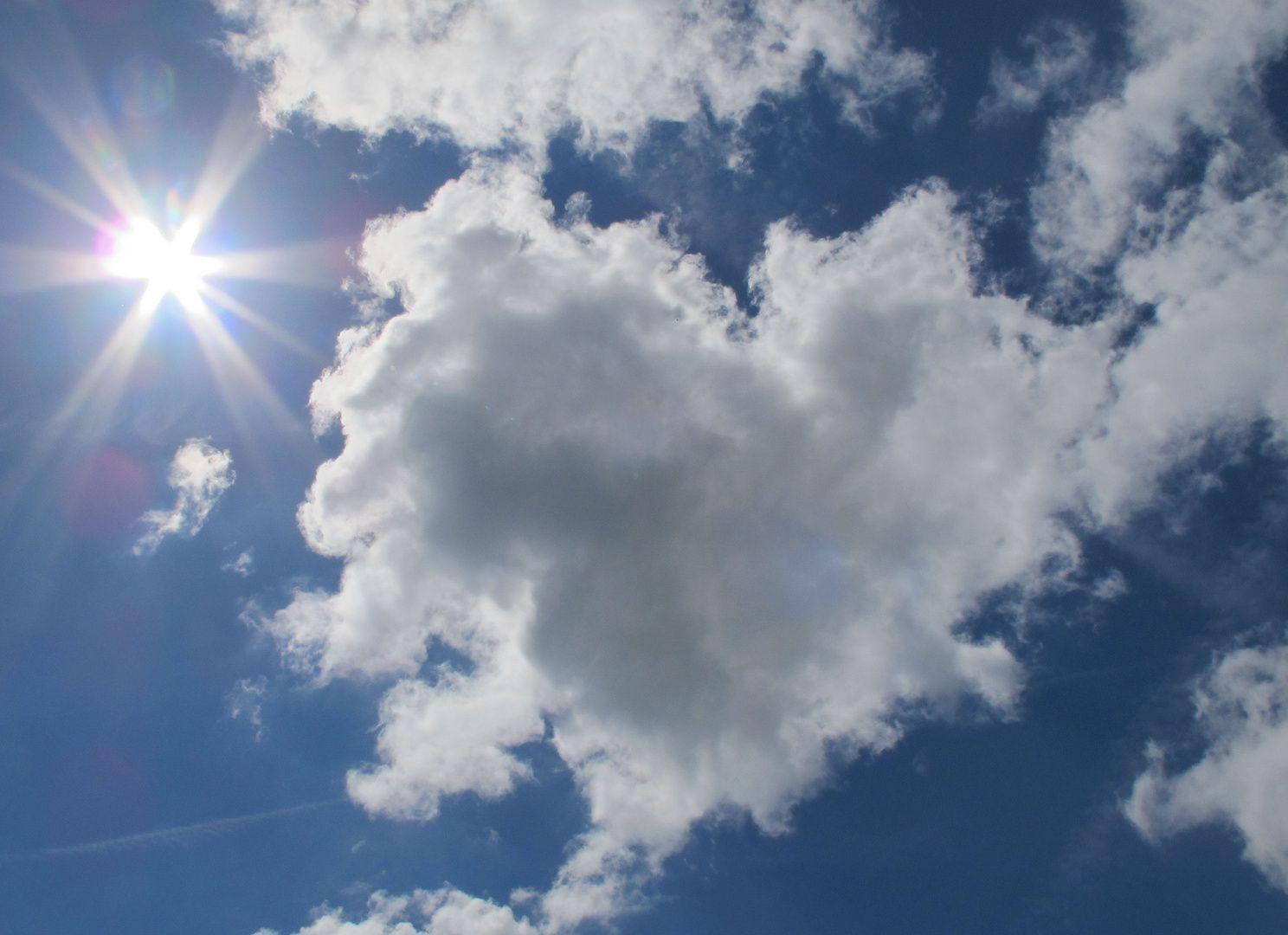 Herz Aus Wolken Wolken Wolken Bilder Bilder