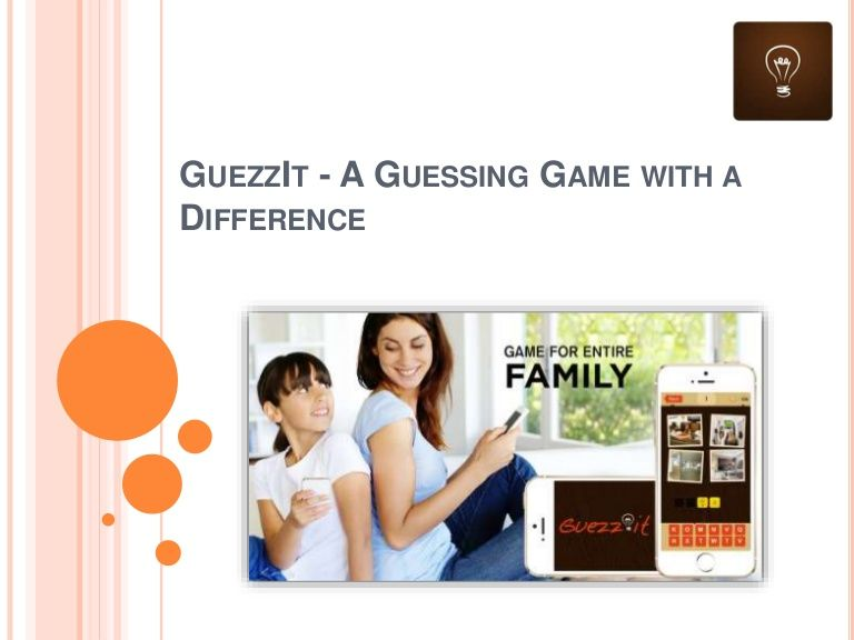 Guezzit - A Guessing Game With A Diffrence