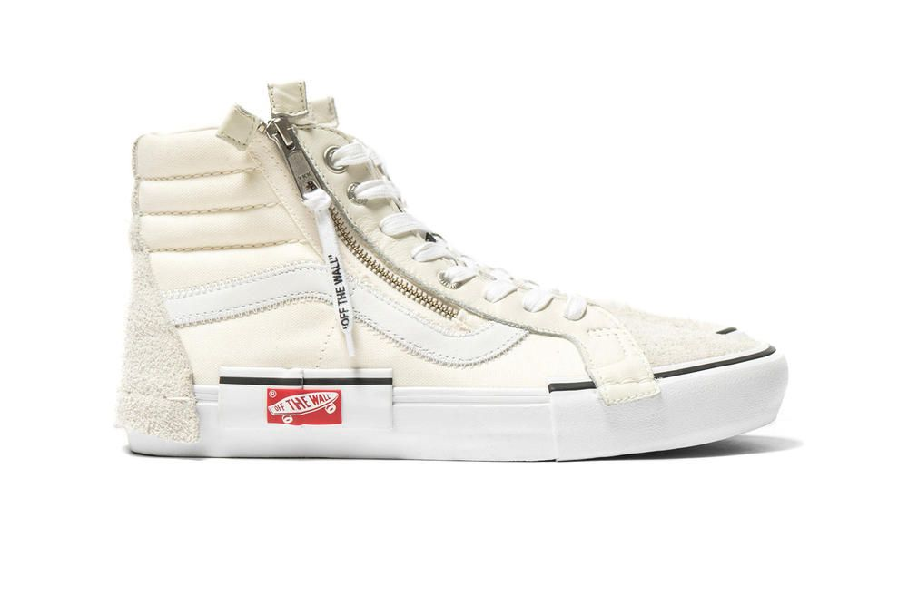 0a81b1b6d77 Vans Vault Deconstructs the Sk8-Hi   Slip-On in New