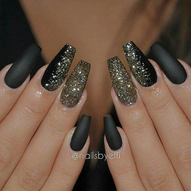 Black Gold | nail art | Pinterest | Nail nail