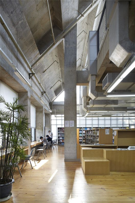 Gallery Of Sichuan Fine Arts Institute Library Of Huxi Tanghua