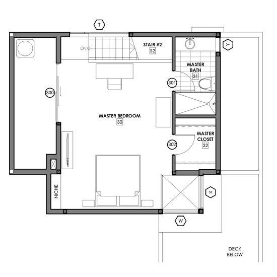 Floor Plan Option 2  The Big Bedroom Second Story  Modative Delectable Small Bathroom Designs And Floor Plans Design Ideas