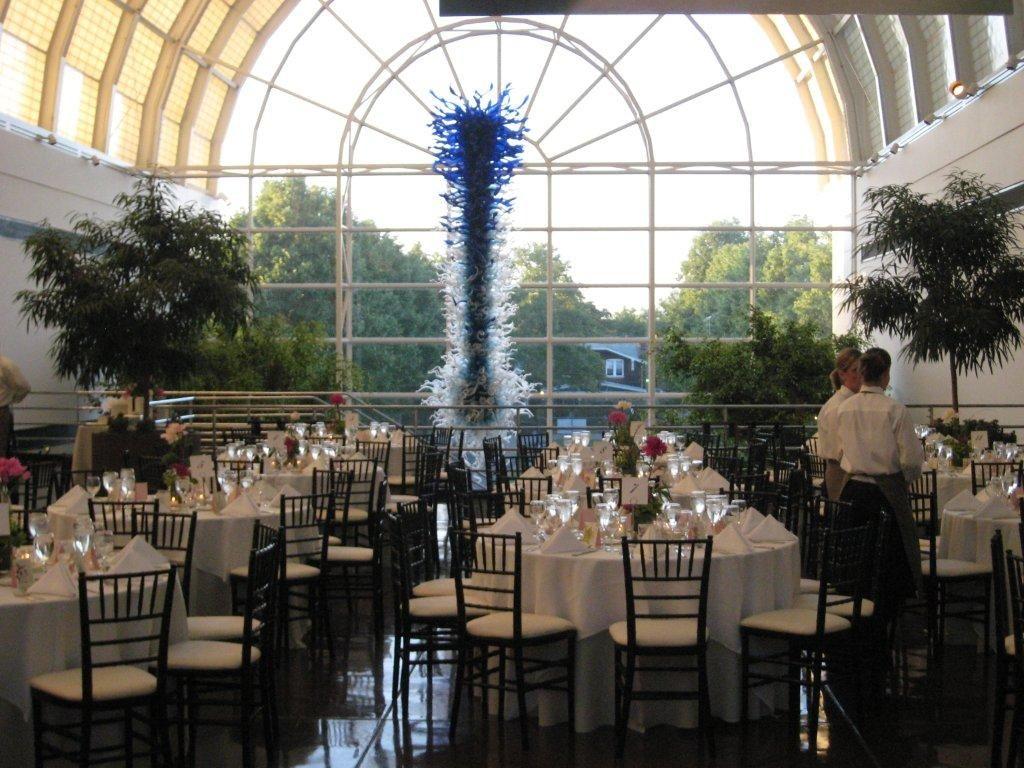 Fabulous wedding receptions at the Missouri Botanical