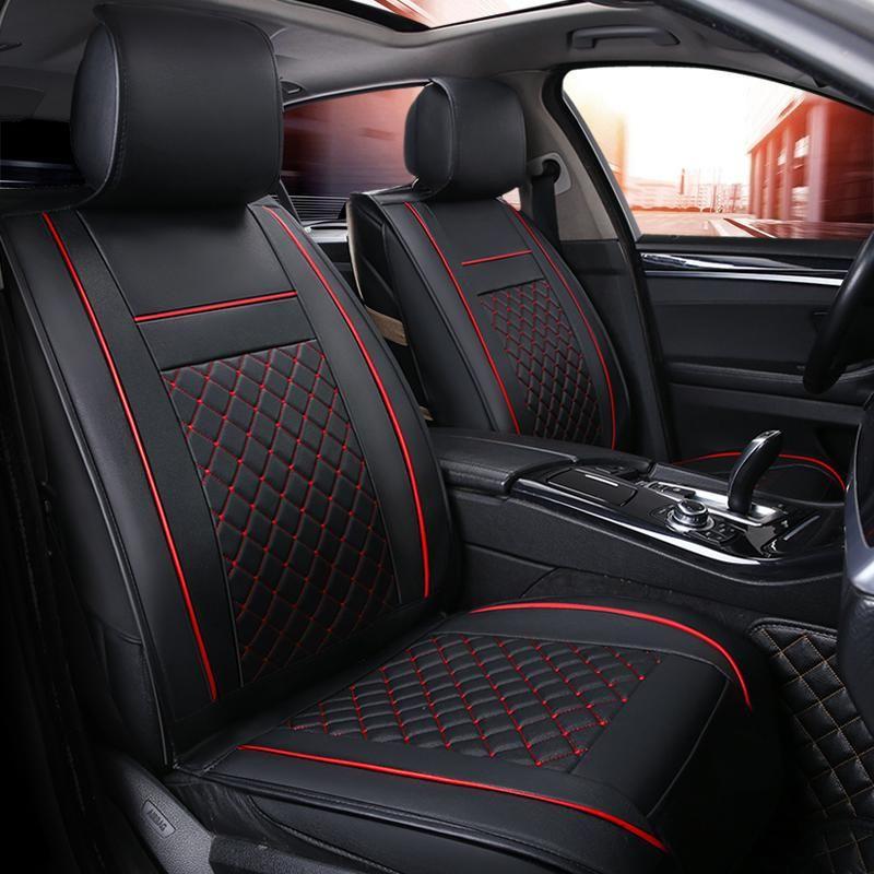 Luxury Leather Car Seat Cover 4 Season