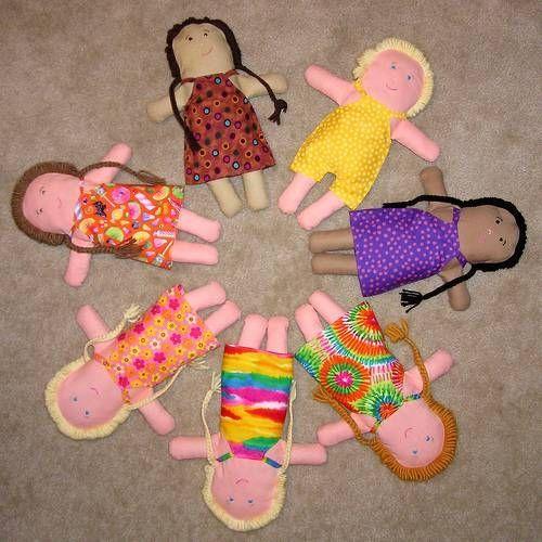 rag dolls.  too cute!
