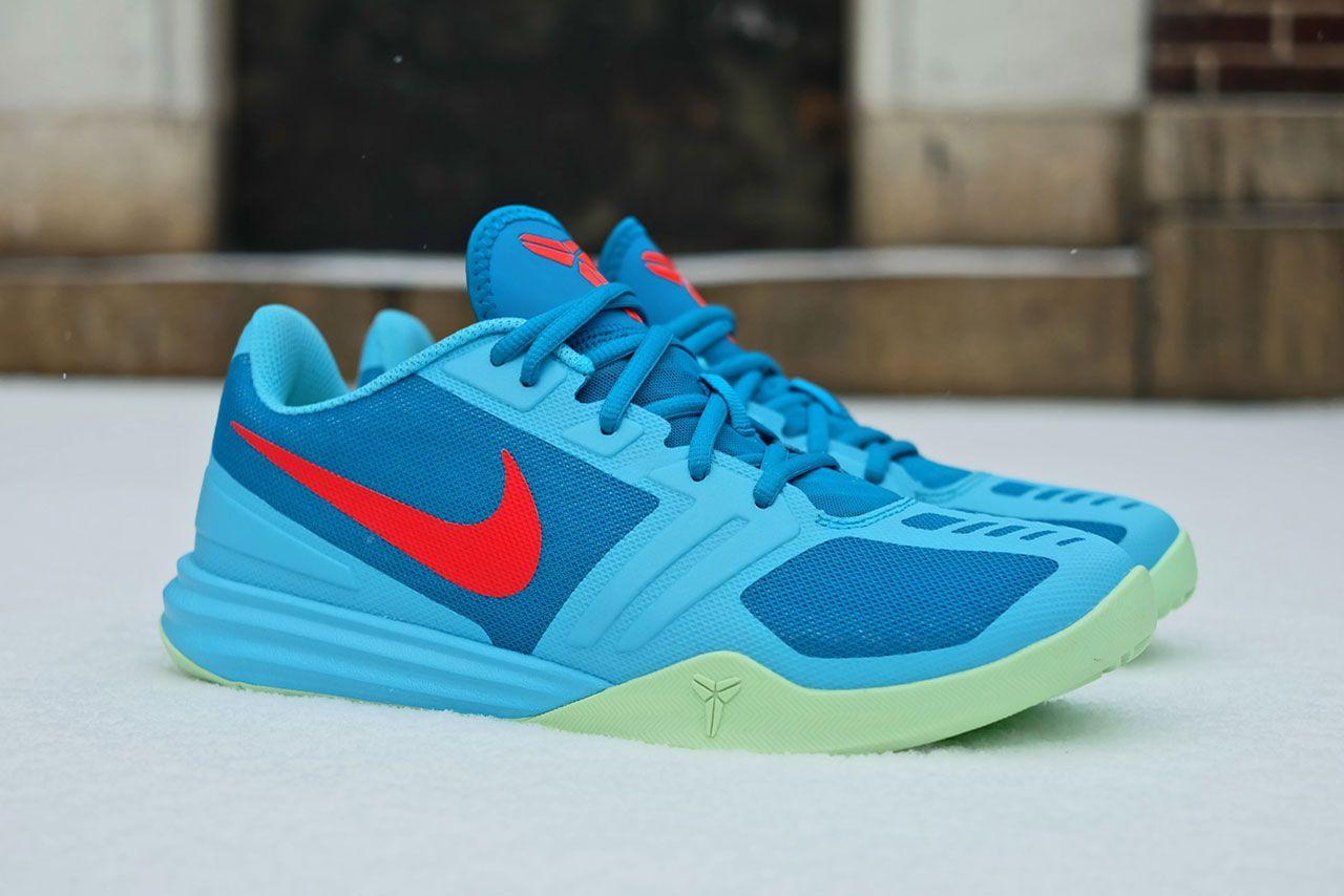 Kobe Bryant mentality 1 Mens Sneakers Clearwater Blue Crimson Basketball 10