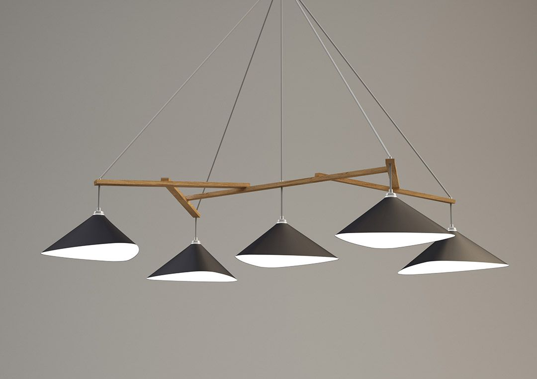 becker lighting. Emily Group Of Five With A Timber Frame By Daniel Becker Design Studio Berlin Lighting