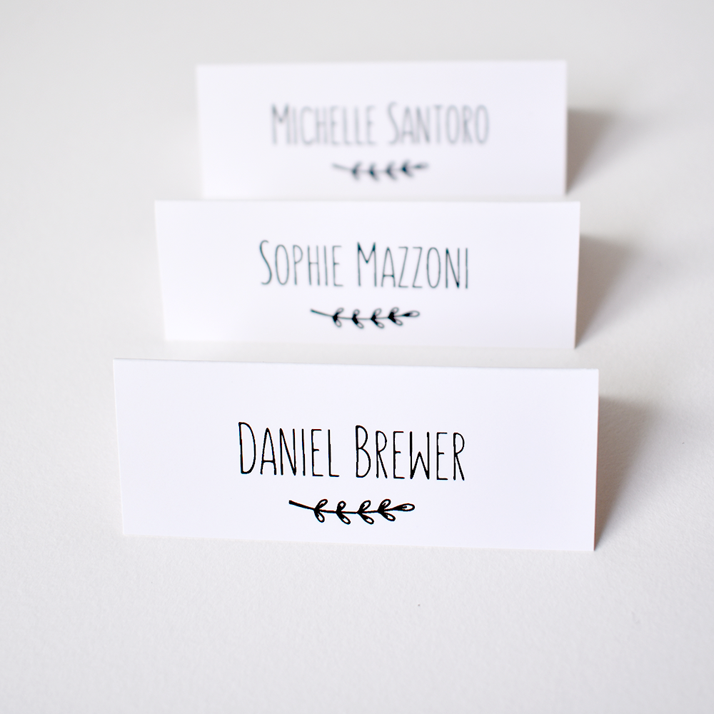 Place Cards For Wedding Personalised Wedding Table Name Tags Guest Place Setting Tent Cards For Wedding Olive Leaf Guest Name Cards Wedding Table Name Cards Wedding Table Names Table Name Cards