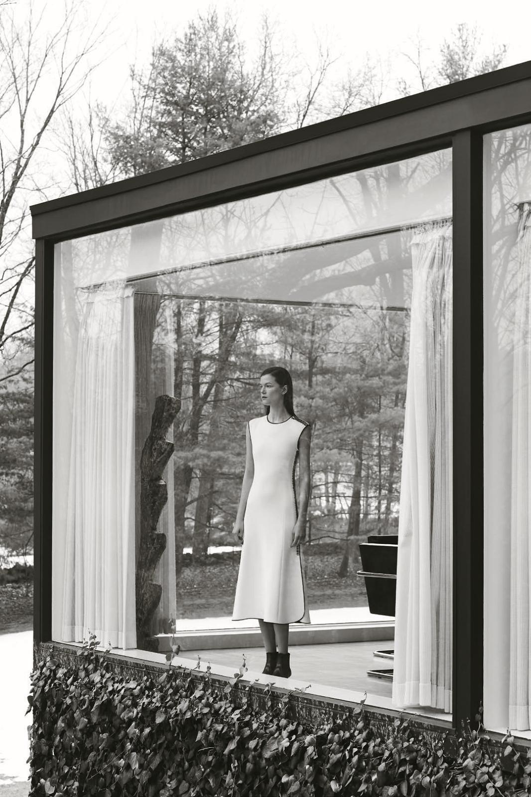 Kasia Struss for Bergdorf Goodman Pre-Fall 2015 - Balenciaga