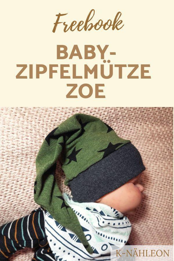 Endlich ein etwas anderes Hutmuster! Die spitze Mütze Zoe wird ... #hochzeitskleiderhäkeln