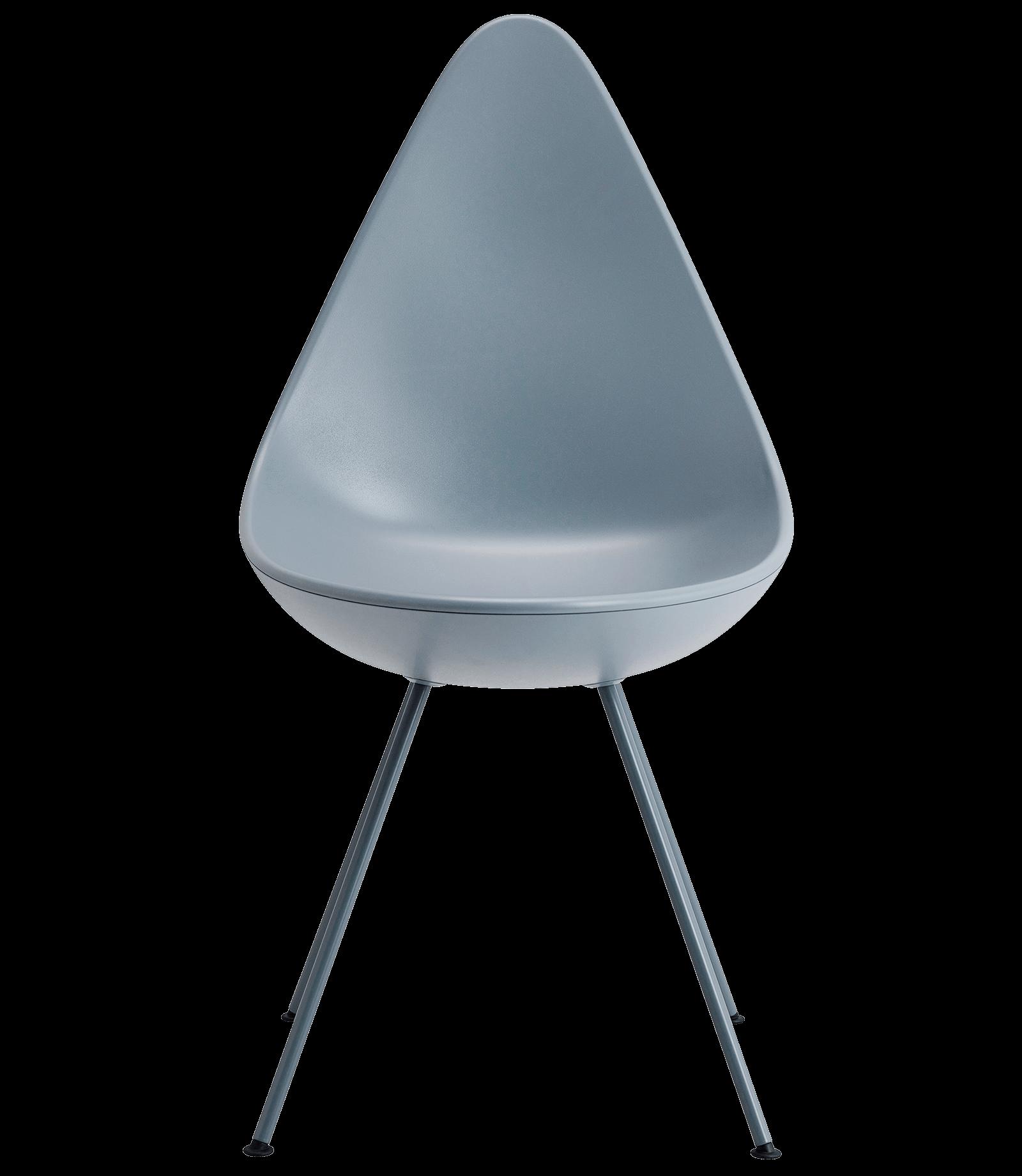 Jacobsen Stuhl der drop stuhl arne jacobsen blue kunststoff