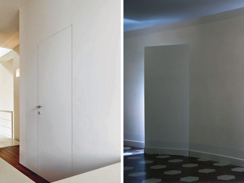 Porte filo muro a Battente - L\'Invisibile   Quieta - ideas ...
