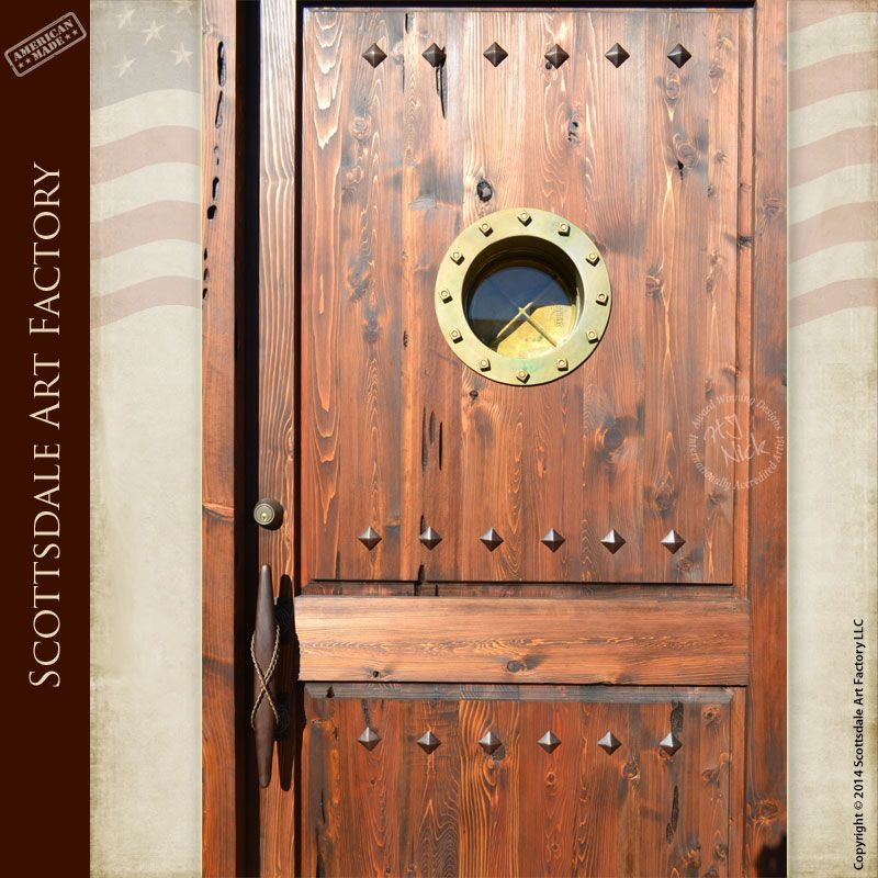 Custom Wood Doors Hand Crafted By Master Wood Workers & Porthole Door Wood u0026 9e3474225fe25436e08c5763a63bdd7a ... pezcame.com
