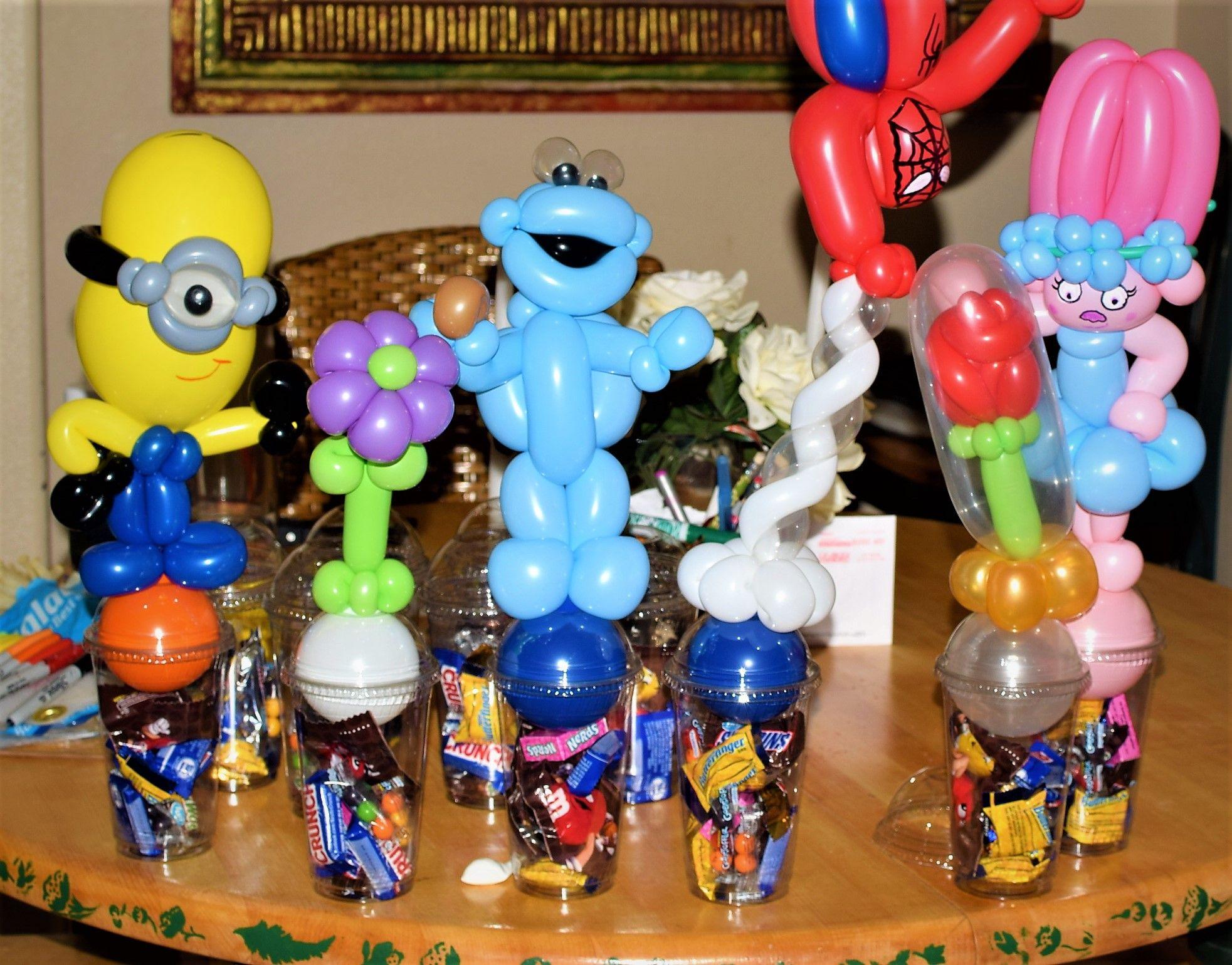 Birthday Balloon Candy Cups By Las Vegas Artist Jeremy Johnston Atomicballoons