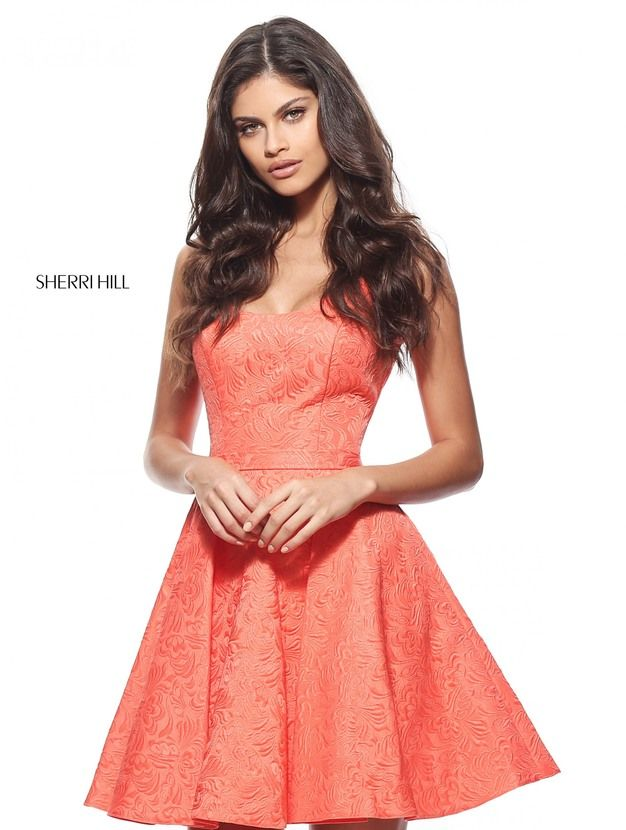 51071 - Orange Dress