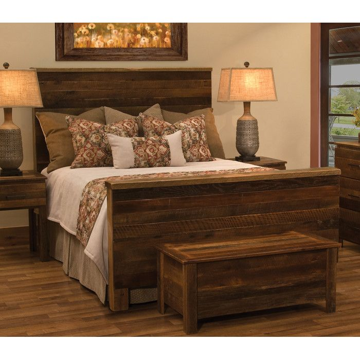 you'll love the barnwood uptown panel bed at wayfair