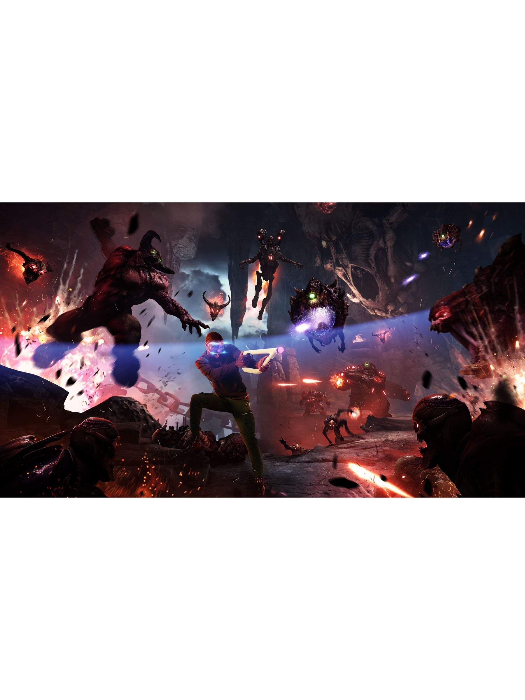 Sony Playstation Vr Mega Pack Playstation Vr Headset Playstation Camera Download Codes For Doom Vfr Wipeout Omega Collection Skyrim Vr Astro Produc