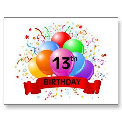 Twin Boy 13th Birthday Decor Happy 13th Birthday 4d2 Happy 13 Birthday Wishes