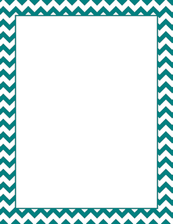 Teal chevron border page borders pinterest chevron borders free turquoise chevron border templates including printable border paper and clip art versions file formats include gif jpg pdf and png altavistaventures Choice Image