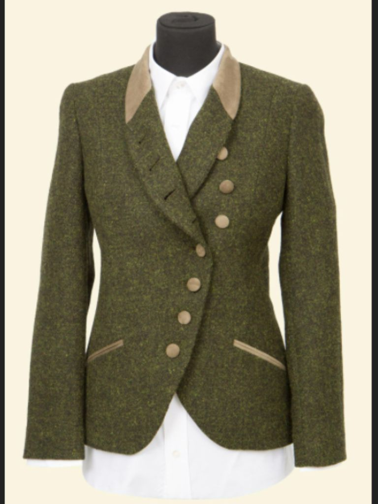 AUSTINE Womens Tweed Riding Jacket | FASHION | Equestrian