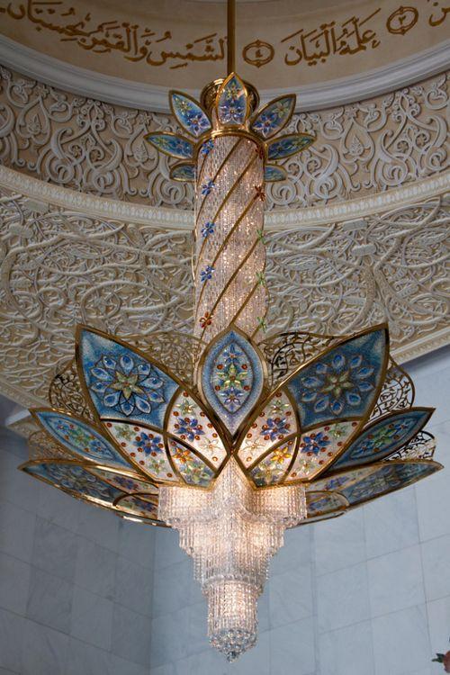Chandeliers - Sheikh Zayed Mosque Abu Dhabi | DUBAI / UAE ...