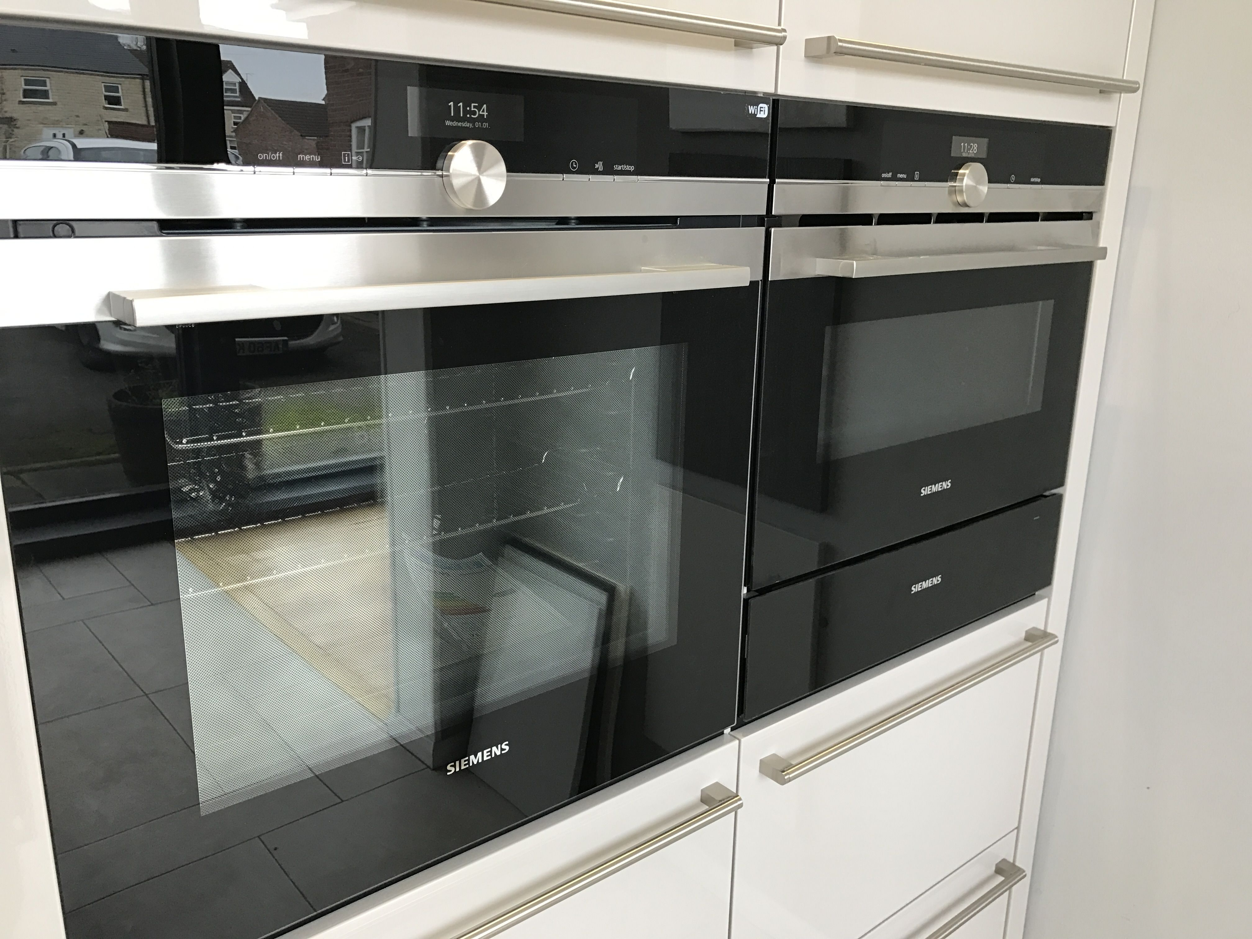 Siemens Single Oven Combi Warming Drawer