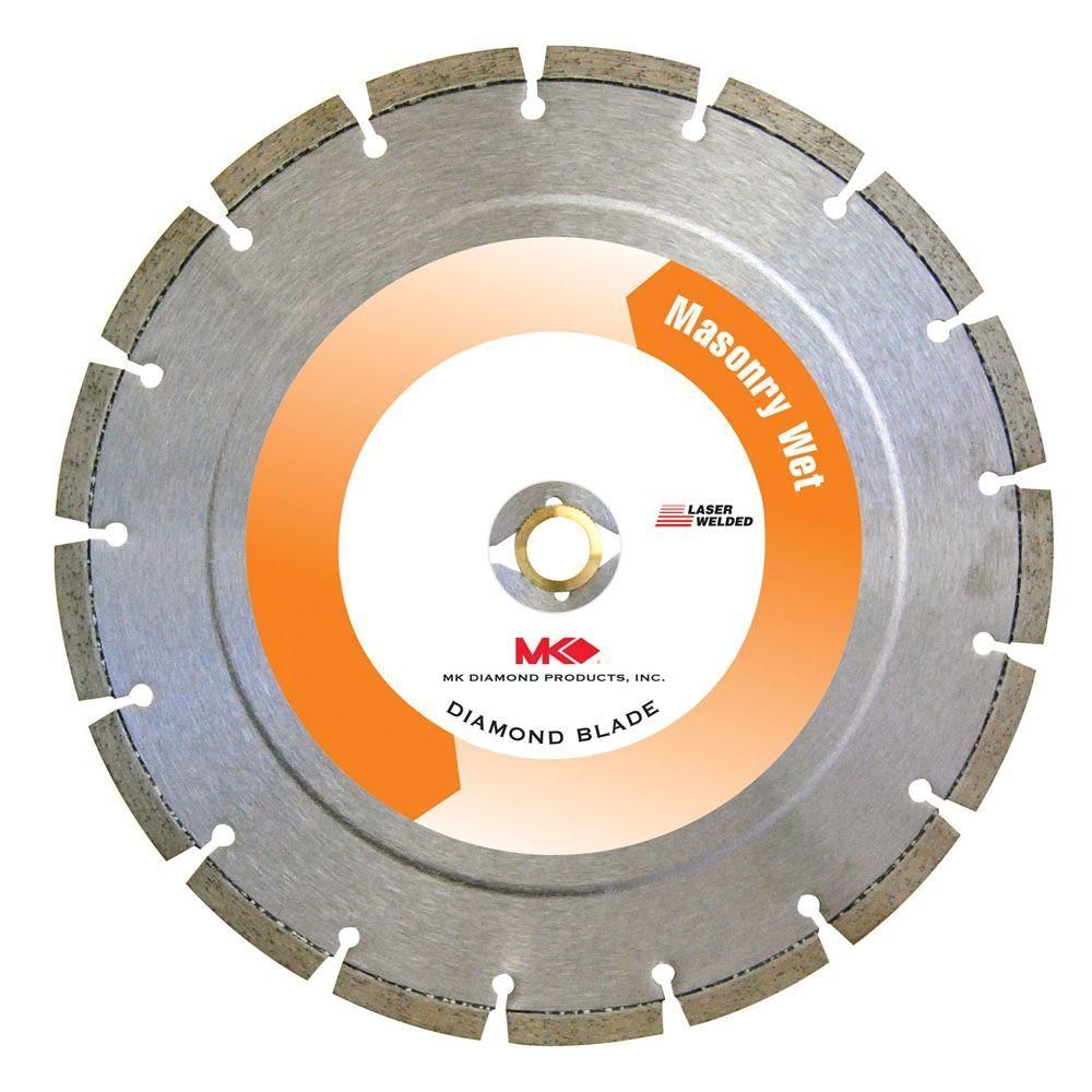 Mk Diamond 10 In Premium Grade Segmented Diamond Blade For Paver Bricks Mk 10s 10 Diamond Blades Blade