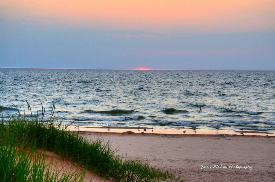 Lake Michigan ~ Tiscornia Beach