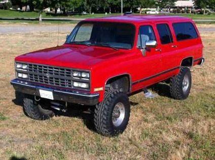 1990 Chevy Suburban 2500 Chevy Suburban Chevrolet Suburban